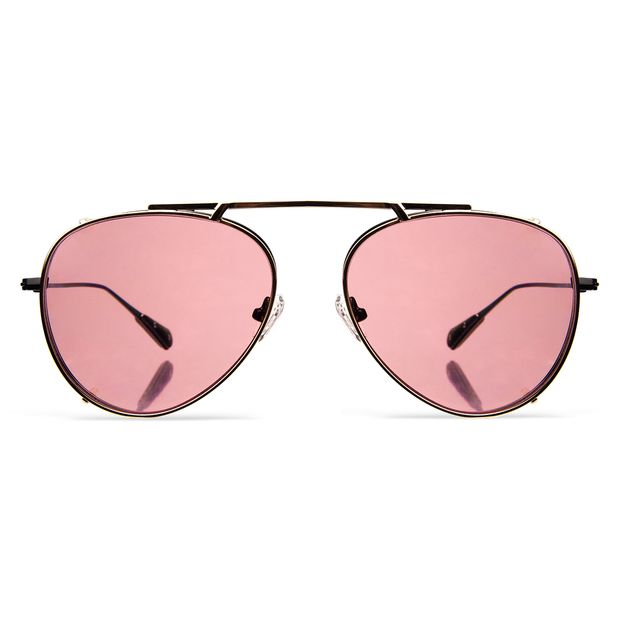 SQUARE-Priscilla-Gold-clip-on-w-dusty-pink-see-through-on-black-front-lo-res-white-bg